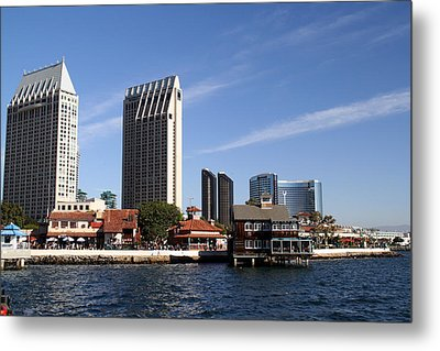 Metal Print featuring the photograph San Diego by Christopher Woods