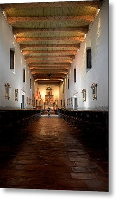 Metal Print featuring the photograph San Diego De Alcala by Christine Till