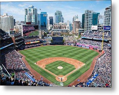 San Diego Padres Metal Print by Robert VanDerWal