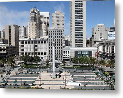 San Francisco . Union Square . 5d17938 Metal Print