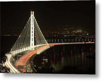 San Francisco Bay Bridge New East Span Metal Print