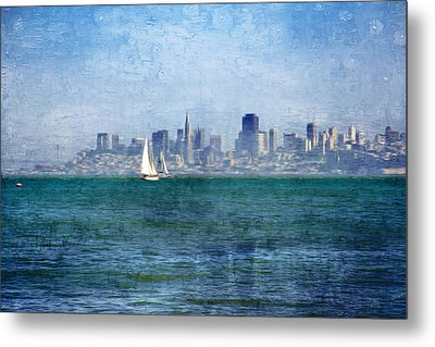 San Francisco Bay Metal Print by Serena King