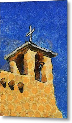 San Francisco De Asis Church In Ranchos De Taos Metal Print by Mitch Tillison