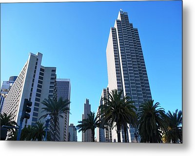San Francisco Embarcadero Center Metal Print