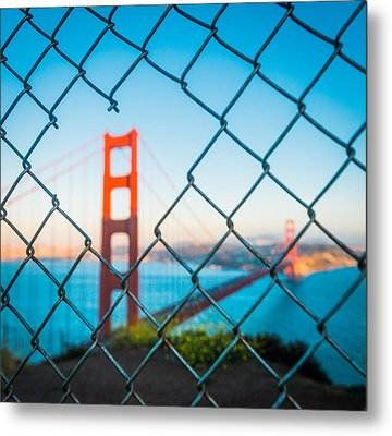 San Francisco Golden Gate Bridge Metal Print by Cory Dewald