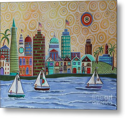 San Francisco Metal Print by Karla Gerard