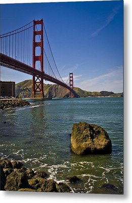 San Francisco Metal Print by Niels Nielsen