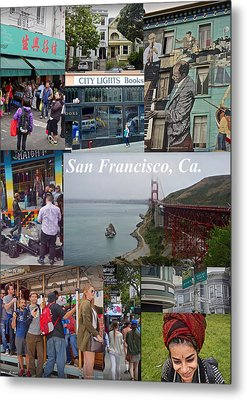 Metal Print featuring the photograph San Francisco Poster by Joan Reese