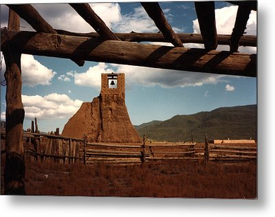 Metal Print featuring the photograph San Geronimo Church Ruins by Kathleen Stephens