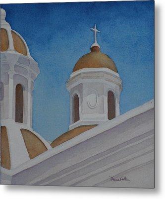 San Juan Cathedral Metal Print