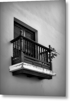 San Juan Window 2 Metal Print by Perry Webster