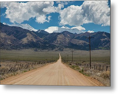 San Luis Valley Back Road Cruising Metal Print by James BO Insogna