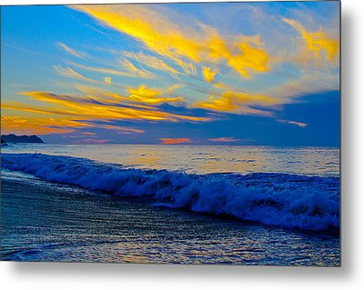 San Pancho Sunset Metal Print