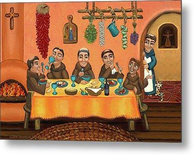 San Pascuals Table 2 Metal Print by Victoria De Almeida