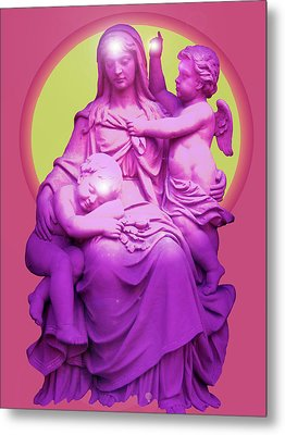 Sancta Maria No. 01 Metal Print by Ramon Labusch