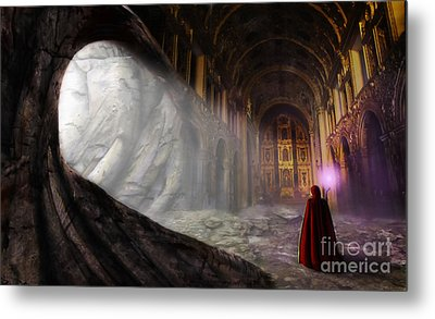 Sanctum Metal Print by John Edwards