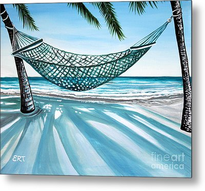 Sand And Shadows Metal Print by Elizabeth Robinette Tyndall