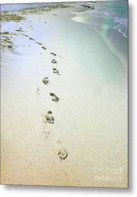 Metal Print featuring the photograph Sand Between My Toes by Betty LaRue
