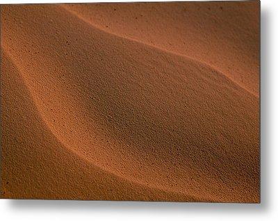 Sand Curves Metal Print