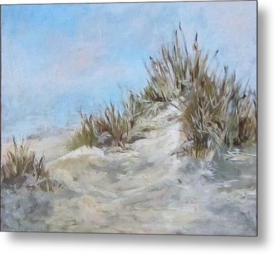Sand Dunes And Salty Air Metal Print by Barbara O'Toole