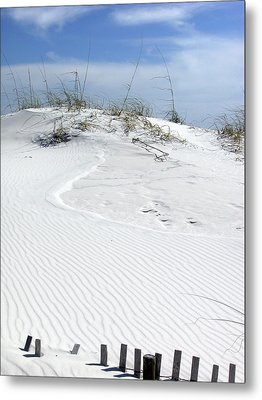 Metal Print featuring the photograph Sand Dunes Dream 2 by Marie Hicks