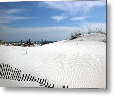 Sand Dunes Dream Metal Print by Marie Hicks