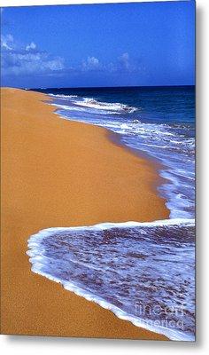 Sand Sea Sky Metal Print by Thomas R Fletcher