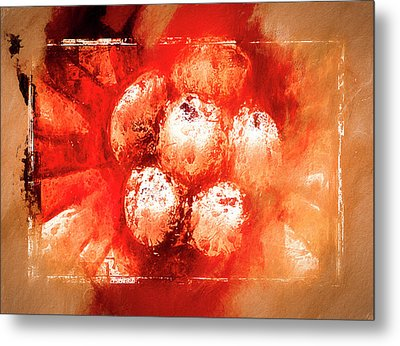 Metal Print featuring the digital art Sand Storm by Carolyn Marshall