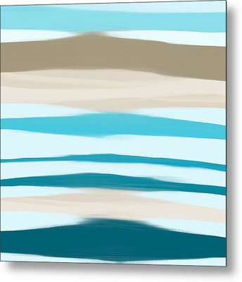 Sandbanks Metal Print by Frank Tschakert
