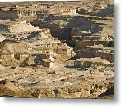 Sandcastles Metal Print by Arik Baltinester