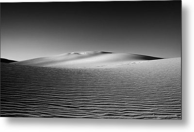 Sandscape Metal Print by Joseph Smith