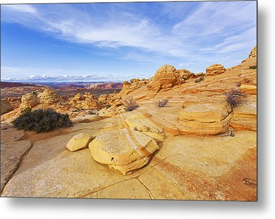 Sandstone Wonders Metal Print by Chad Dutson