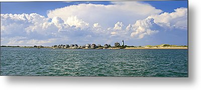 Sandy Neck Cottage Colony Metal Print