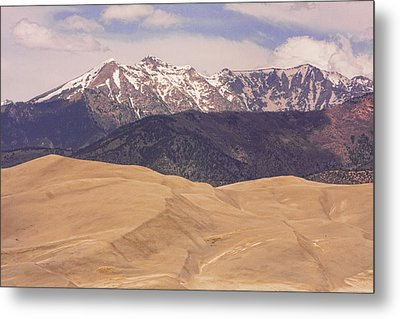 Sangre De Cristo Mountains And The Great Sand Dunes Metal Print by James BO  Insogna