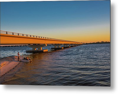 Metal Print featuring the photograph Sanibel Causeway IIi by Steven Ainsworth