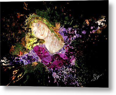 Sanja Dances - Extended Metal Print