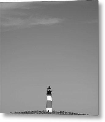 Sankaty Head Lighthouse Nantucket Metal Print by Charles Harden