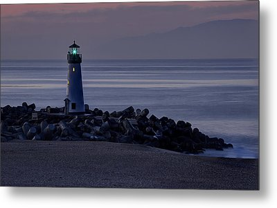 Walton Lighthouse Early Morning Metal Print