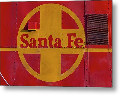 Santa Fe Railroad Metal Print by Garry Gay