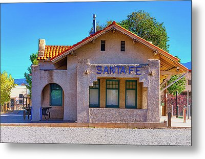 Metal Print featuring the photograph Santa Fe Station by Stephen Anderson