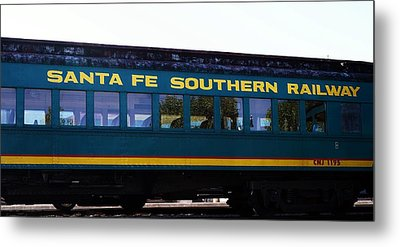Santa Fe Train Metal Print by Joseph Frank Baraba
