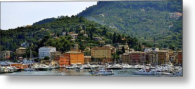 Metal Print featuring the photograph Santa Margherita Ligure by Corinne Rhode
