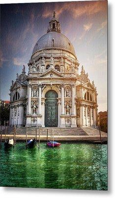 Santa Maria Della Salute - Venice  Metal Print