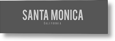 Metal Print featuring the photograph Santa Monica California by Sean McDunn