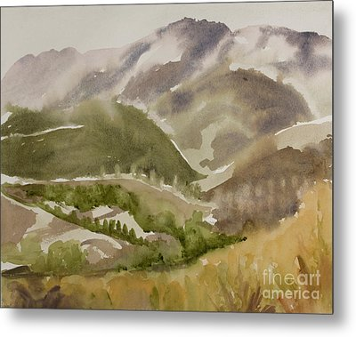 Santa Monica Mountains California Metal Print