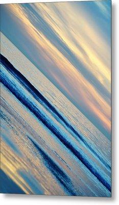 Metal Print featuring the photograph Santa Monica Sunset by Kyle Hanson