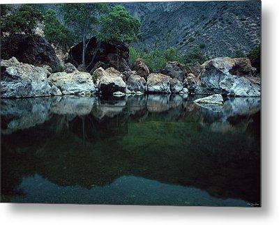 Santa Ynez River Metal Print by Soli Deo Gloria Wilderness And Wildlife Photography