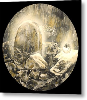 Santeria Metal Print by Kevin Baker