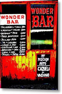 Santiago's Wonder Bar  Metal Print by Funkpix Photo Hunter