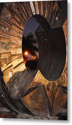 Metal Print featuring the photograph Sarasota Nights 2 by John Knapko